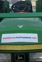 Scott Brown For President Free Bumper Stickers
